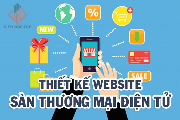 thiet ke website san thuong mai dien tu