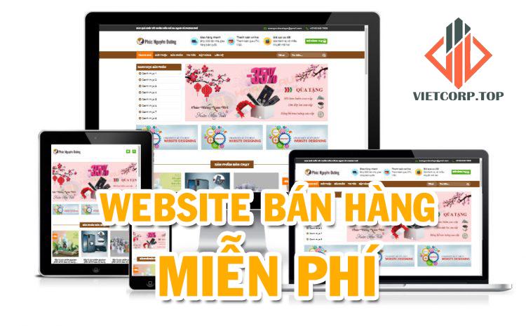 thiet ke website ban hang mien phi