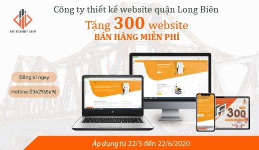Website miễn phí tại Long Biên