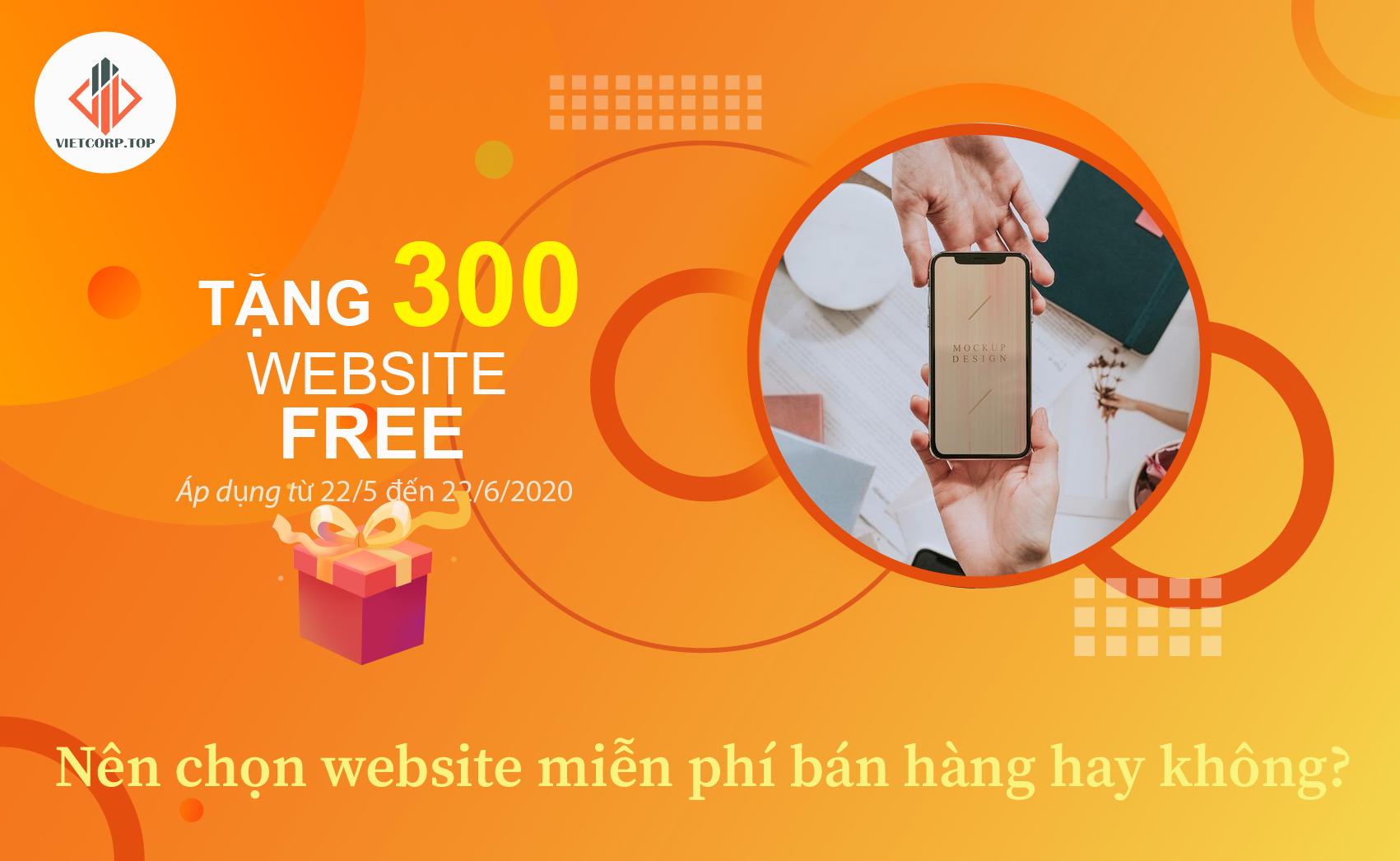 Có nên chọn website miễn phí hay không