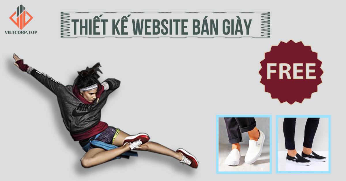 Mẫu Web miễn phí bán giày dép